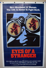 Eyes of a Stranger Horror Poster - International One Sheet